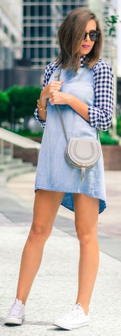 Transitional Dress Everyday Stylish Outfit Idea by For The Love Of Fancy