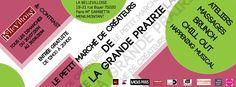 Vente à Le Petit Marché des Créateurs de la Prairie @ La Bellevilloise. Le dimanche 31 août 2014 de 12h à 20 h Adresse : La Bellevilloise, 19-21 rue Boyer 75020 Paris. Métro Gambetta ou Ménilmontant. Entrée gratuite.