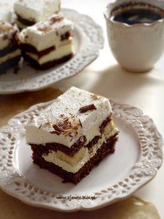 Banana Cake Czech Recipes, Ethnic Recipes, Czech Desserts, Bread Cake, Confectionery, No Bake Cake, Cupcake Cakes, Sweet Tooth, Sweet Treats