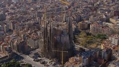 Video showing what gaudi's sagrada familia will look like when it's finally finished