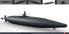 Grafico Multimedia: Submarino Peral, características del buque