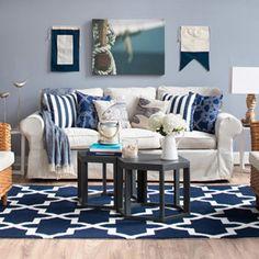Coastal Living Room - Joss and Main - BL