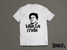 Viva La Frida Frida Kahlo-Shirt von rouxbayou auf Etsy
