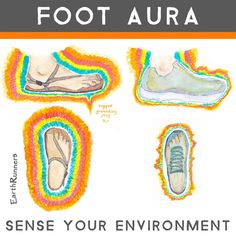 """The sole of the foot is richly covered with some 1,300 nerve endings per square inch."" -Dr. Rossi (podiatrist) 👣 Why So Many Nerve Endings? To keep us 'in touch' with the Earth. The real physical world around us. It's called 'sensory response.' The foot is the vital link between the person and the Earth. Dr. Rossi refers to the foot ""as a kind of radar-sonic base.""  👣 (From the book Earthing by Clinton Ober)"