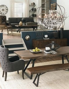 Eco Friendly Design Meets Modern Style With This Live Edge Wood Dining Table