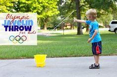 Olympic Javelin Throw for Kids