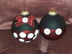 Cute idea for disney themed treeventures from pinterest mickey minnie mouse ornament mickey mouse ornamentsdisney christmas ornamentschristmas ideasmickey solutioingenieria Gallery