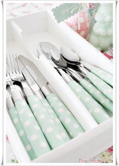Sommerhusliv all year ...: Gl Cutlery box ..
