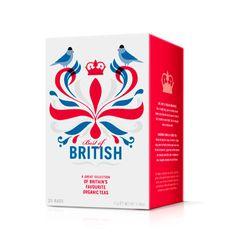 Higher Living tea packagingdesigned by B&B.
