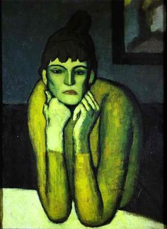 Femme au chignon Pablo Picasso (à 20 ans !)                                                                                                                                                     Plus