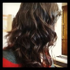 Digital Perm two weeks later, size 24 and 26 rolls | Yelp