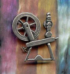 Spinning Wheel brooch.   Scottish designer Ola Gorie. I treated myself to one that was for sale on EBAY.