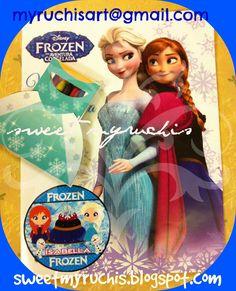 Fiesta Frozen, Ideas fiesta, Fiesta infantil, Fiesta Princesas  myruchis.blogspot.com