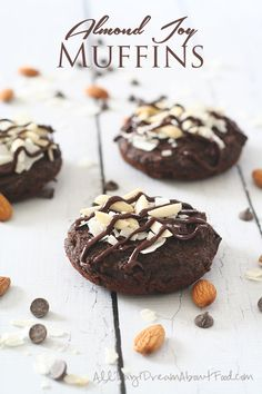 Low Carb Almond Joy Muffins