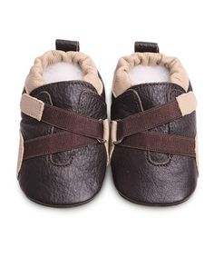 Take a look at this Brown Bootie by Shooshoos on #zulily today!