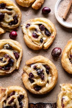 These (almost idiot proof) 5 Ingredient Cranberry Brie Cinnamon Puff Pastry Swirls.a festive sweet and savory appetizer ideal for holiday entertaining! All You Need Is, Holiday Appetizers, Holiday Meals, Christmas Recipes, Appetizer Recipes, Holiday Recipes, Dessert Recipes, Half Baked Harvest, Snacks