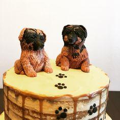 Dog cake toppers Dog Cake Topper, Cake Toppers, Cakes, Desserts, Food, Tailgate Desserts, Deserts, Cake Makers, Kuchen