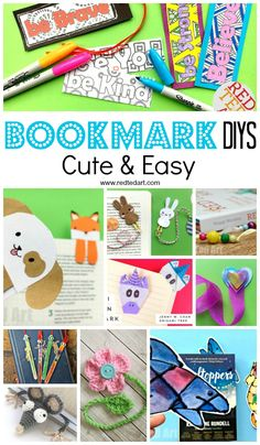Creative DIY Bookmar