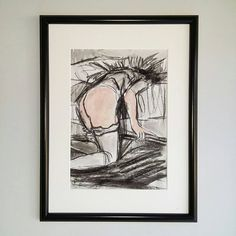 See unique drawings and paintings in my Etsy Shop! Art SALE 9€ https://www.etsy.com/de/listing/477706567/nude-expressionistic-drawing