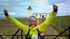 Finish na 2000 km en 40 rendagen plus 8 rustdagen. John O' Groats. Run Wild 2013.
