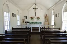 This is where Bl. Damien of Molokai celebrated Mass! St. Joseph Church on Molokai, Hawaii by Fazia_, via Flickr