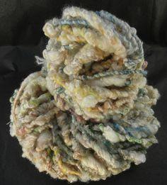Wolle - Artyarn aus Schafslocken - ein Designerstück von superflausch bei DaWanda