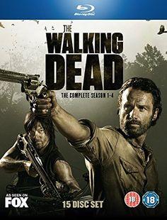 The Walking Dead Seasons 1- 4 on Blu-ray