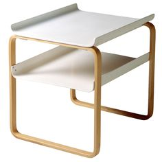 915 side table by Alvar Aalto.