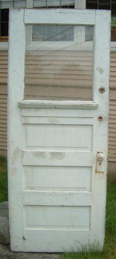 """New Front Door for Office  ASSEMBLAGE: 36""""W 3-panel Exterior Door $150 2/2013"""