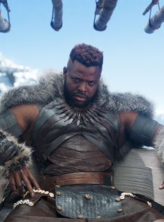 "Black Panther actor Winston Duke revealed he auditioned for the movie with with ""fake scripts"" and didn't even know it was a Marvel movie. Black Panther Party, Black Panther Marvel, Black Panther 2018, Marvel Films, Marvel Heroes, Marvel Dc, Marvel Cinematic, Black Love, Black Is Beautiful"