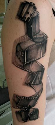 If I were to ever get a tattoo... it would be very similar to this one, I think. Mike Demasi - Film Roll