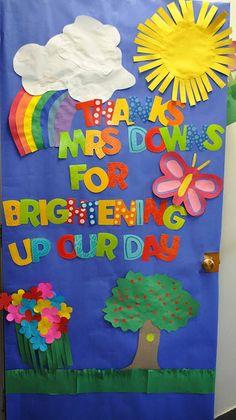teacher appreciation week decorations | Teacher Appreciation Week: Door Decorations