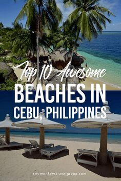 If you are looking for an amazing tropical getaway then Cebu, Philippines should be one of those places on your radar. Here are the top 10 beaches in Cebu. Voyage Philippines, Philippines Cebu, Philippines Vacation, Philippines Beaches, Phillipines Travel, Exotic Beaches, Tropical Beaches, Phuket, Tourist Spots