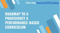 CSCTFL 2018 [Roadmap to a Proficiency & Performance-Based Curriculum] Mocon & Behm Central States, Language Proficiency, World Languages, Ipa, Milwaukee, Curriculum, School Ideas, Conference, Presentation