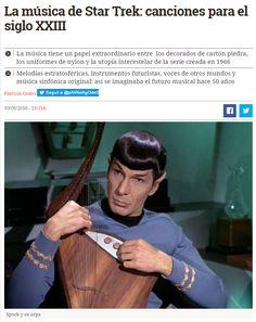 La música de Star Trek: canciones para el siglo XXIII / @eldiarioes   #scifi #nosólotécnicaBUPM