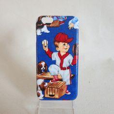 iPhone6/6S ケース BASEBALL | MATA handmade cases http://matahandmade.thebase.in/items/2395648 @MATA_handmade