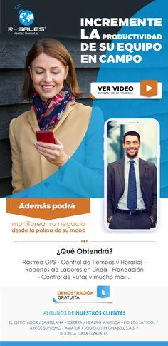 #NOVOCLICK esta con #R-Sales #APP #Monitoree su personal en calle E-mail Marketing, Sales