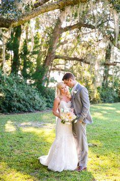 Peach White Gold Hilton Head Island Sc Wedding Dana Cubbage Weddings Charleston Destination Photographer Dcw Bride Groom