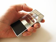 tactile mobile phone for the blind by peter lau