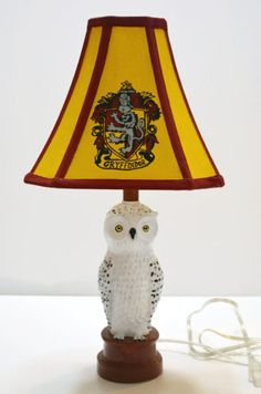 Harry Potter Lamp by NerdFreakinTastic on Etsy https://www.etsy.com/listing/193927920/harry-potter-lamp
