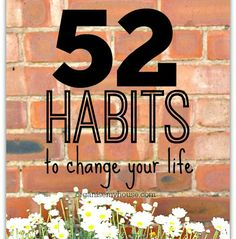 Get organised now with new habits - one a week can make such a difference. Habits and routines and schedules equals organised! Learn new habits today