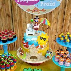 O mundo do Bita está fazendo muito sucesso e essa versão praia está linda! Regrann from @marciocakes  #festejandoemcasa #mundodobitafestejandoemcasa #festamundodobita