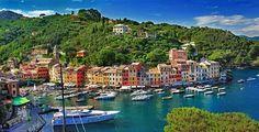 Portofino italya.