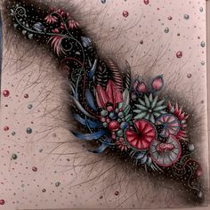 by Vered Mizrachi - Johanna Basford Colouring Gallery Johanna Basford