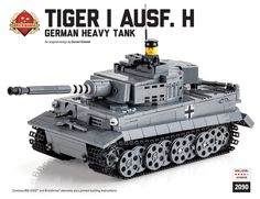 Brickmania - Tiger I Ausf H - Premium Black Box Kit, $395.00 (http://www.brickmania.com/tiger-i-ausf-h-premium-black-box-kit/)