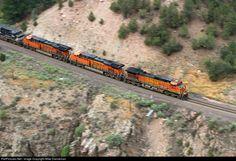 RailPictures.Net Photo: BNSF 5445 BNSF Railway GE C44-9W (Dash 9-44CW) at Radium, Colorado by Mike Danneman