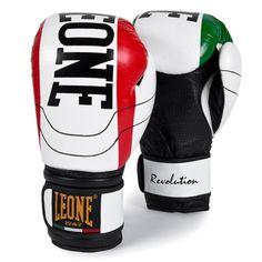 Guantoni LEONE REVOLUTION Bianco Kick Boxing