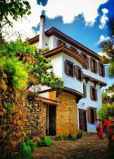 Houses of Sirincé, Selcuk, Izmir, Türkiye. Beautiful Places In The World, Places Around The World, Great Places, Around The Worlds, Beautiful Homes, Places To Travel, Places To Go, Turkish Architecture, Visit Turkey