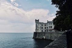 Miramare Castle near Trieste Trieste, Costa, Building, Travel, Italia, Park, Viajes, Buildings, Trips