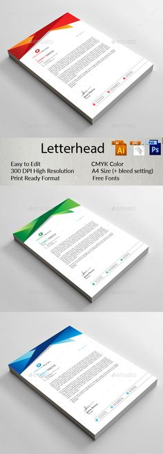 Letterhead  Stationery Printing Print Templates And Brochures